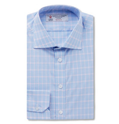 Turnbull & Asser - Slim-Fit Checked Cotton Shirt