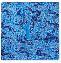 Turnbull & Asser - Printed Silk Pocket Square