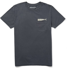 Mollusk - Olde Whale Printed Cotton-Jersey T-Shirt