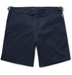 Orlebar Brown Norwich Mid-Length Cotton-Twill Shorts