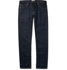 NN07 Three Slim-Fit Selvedge Stretch-Denim Jeans