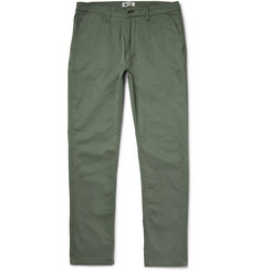 NN07 - Marco Slim-Fit Stretch-Cotton Twill Trousers