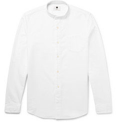 NN07 - Samuel Slim-Fit Grandad-Collar Cotton Oxford Shirt