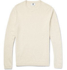 NN.07 - Albert Basketweave Cotton Sweater