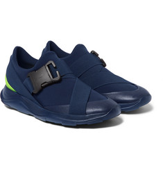 Christopher Kane Neoprene, Leather and Rubber  Sneakers