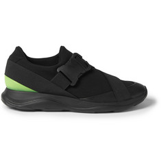 Christopher Kane Scuba, Leather and Rubber Sneakers