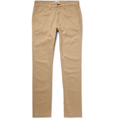 NN07 Marco Slim-Fit Cotton-Blend Twill Chinos