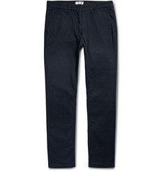 NN07 Marco Slim-Fit Stretch-Cotton Twill Trousers
