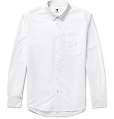 NN07 - New Derek Slim-Fit Button-Down Collar Cotton Oxford Shirt
