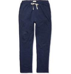 Oliver Spencer Loungewear - Fleece-Back Cotton and Cashmere-Blend Jersey Sweatpants