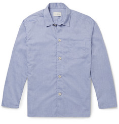 Oliver Spencer Loungewear - Cotton Oxford Pyjama Shirt