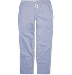 Oliver Spencer Loungewear - Cotton Oxford Pyjama Trousers