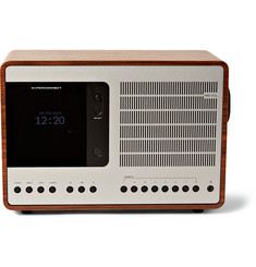 Revo - SuperConnect Walnut and Aluminium Radio