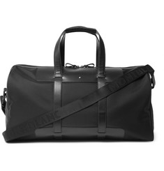 Montblanc - Nightflight 55 Leather-Trimmed Shell Cabin Bag
