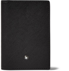 Montblanc Cross-Grain Leather Bifold Cardholder