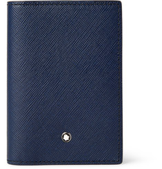 Montblanc Bifold Cross-Grain Leather Cardholder