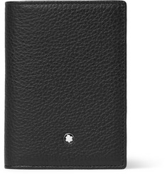 Montblanc Textured-Leather Trifold Wallet