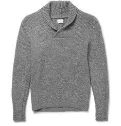 Kingsman Shawl-Collar Wool Sweater