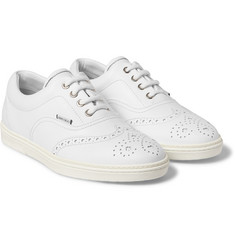 Jimmy Choo - Leather Wingtip Sneakers