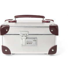 Globe-Trotter + EKOCYCLE™ Leather-Trimmed Aluminium Watch Case