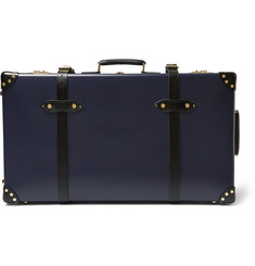 "Globe-Trotter - Spectre 30"" Leather-Trimmed Suitcase"