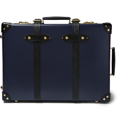 "Globe-Trotter - Spectre 21"" Leather-Trimmed Trolley Case"