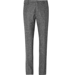 Boglioli Slim-Fit Slub Wool and Cashmere-Blend Suit Trousers