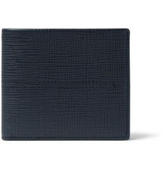 Tod's - Cross-Grain Leather Billfold Wallet