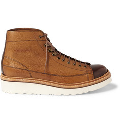 Grenson Andy Panelled Leather Boots