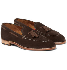 Grenson - Scott Tasselled Suede Loafers
