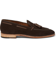 Grenson Scott Suede Tasselled Loafers