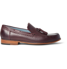 Grenson Grayson Tasselled Leather Loafers
