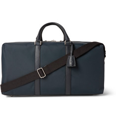 Mulberry - Marty Medium Leather-Trimmed Canvas Holdall
