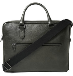 Mulberry Heathcliffe Grained-Leather Briefcase