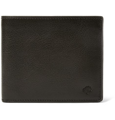 Mulberry Grained-Leather Billfold Wallet