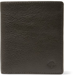 Mulberry Grained-Leather Tri-Fold Wallet