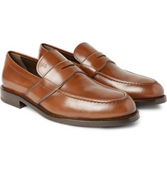 Tod's - Polished-Leather Penny Loafers