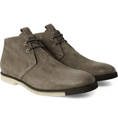 Tod's - Washed-Nubuck Desert Boots