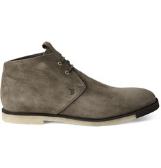 Tod's Washed-Nubuck Desert Boots