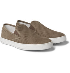 Tod's - Perforated Nubuck Sneakers