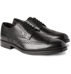 Tod's - Bucature Leather Wingtip Brogues