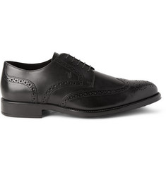 Tod's Bucature Leather Wingtip Brogues