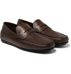 Tod's - City Gommino Leather Penny Loafers