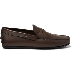 Tod's City Gommino Leather Loafers