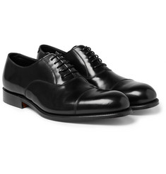 Grenson - Gresham Polished-Leather Oxford Shoes