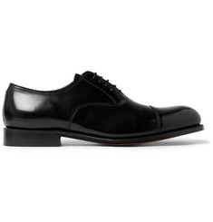 Grenson Gresham Polished-Leather Oxford Shoes