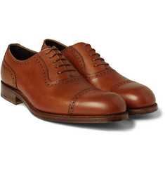 Grenson - Fenchurch Leather Oxford Brogues