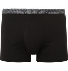 Derek Rose Band Stretch-Cotton Jersey Boxer Briefs