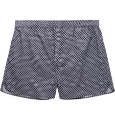 Derek Rose - Nelson Printed Cotton Boxer Shorts