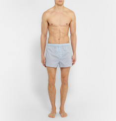 Derek Rose - Printed Cotton Boxer Shorts